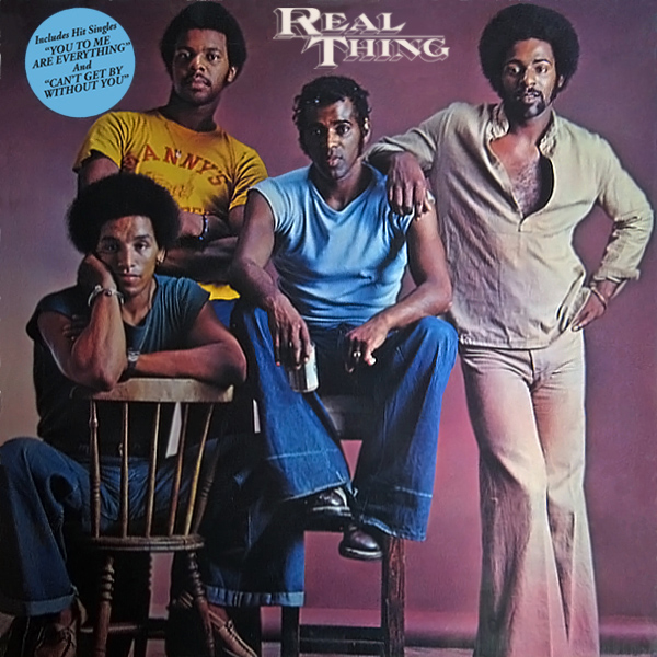 The Real Thing you to me are everything band anni 70 copertina disco