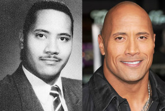 the rock giovane young
