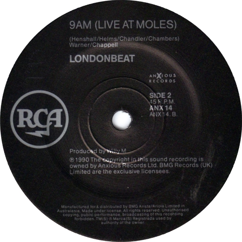 londonbeat ive been thinking about you 1990