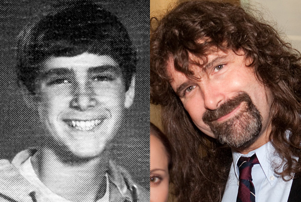 mick foley giovane young