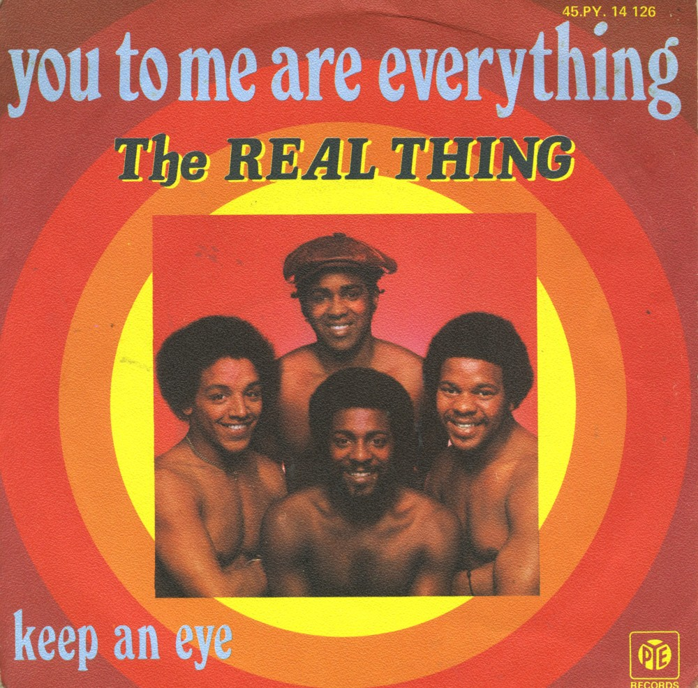 the real thing you to me are everything copertina 45 gif