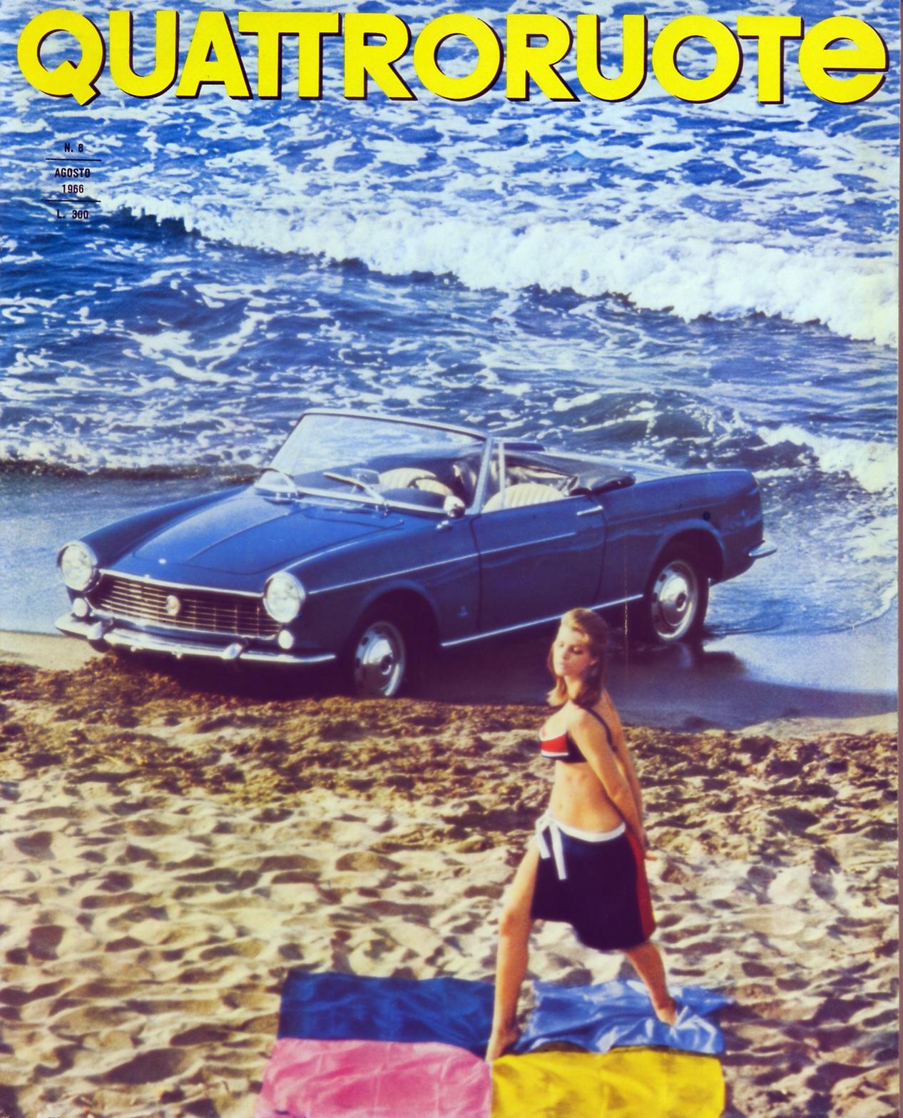 1966 quattroruote copertina agosto 128