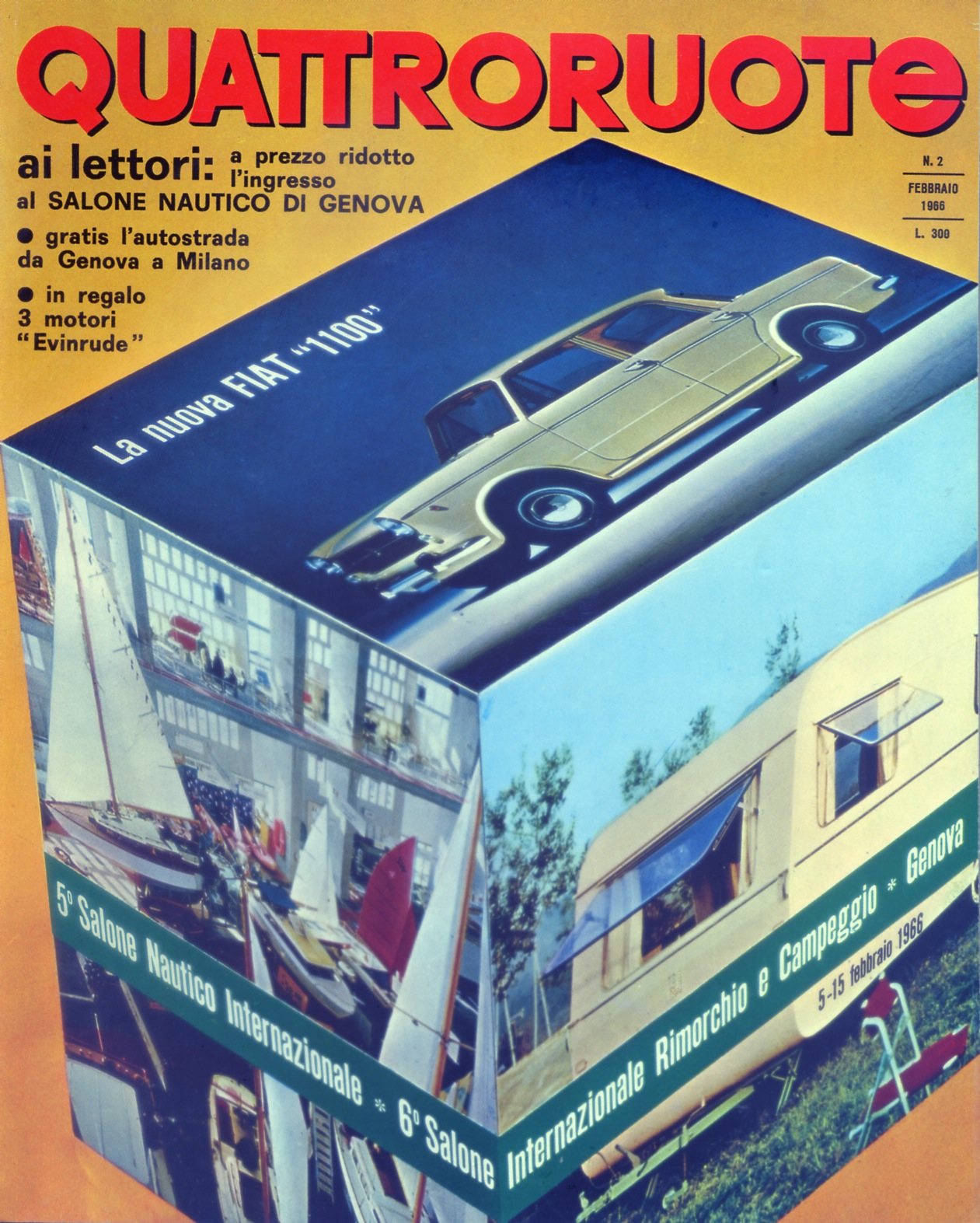 1966 quattroruote copertina febbraio 122