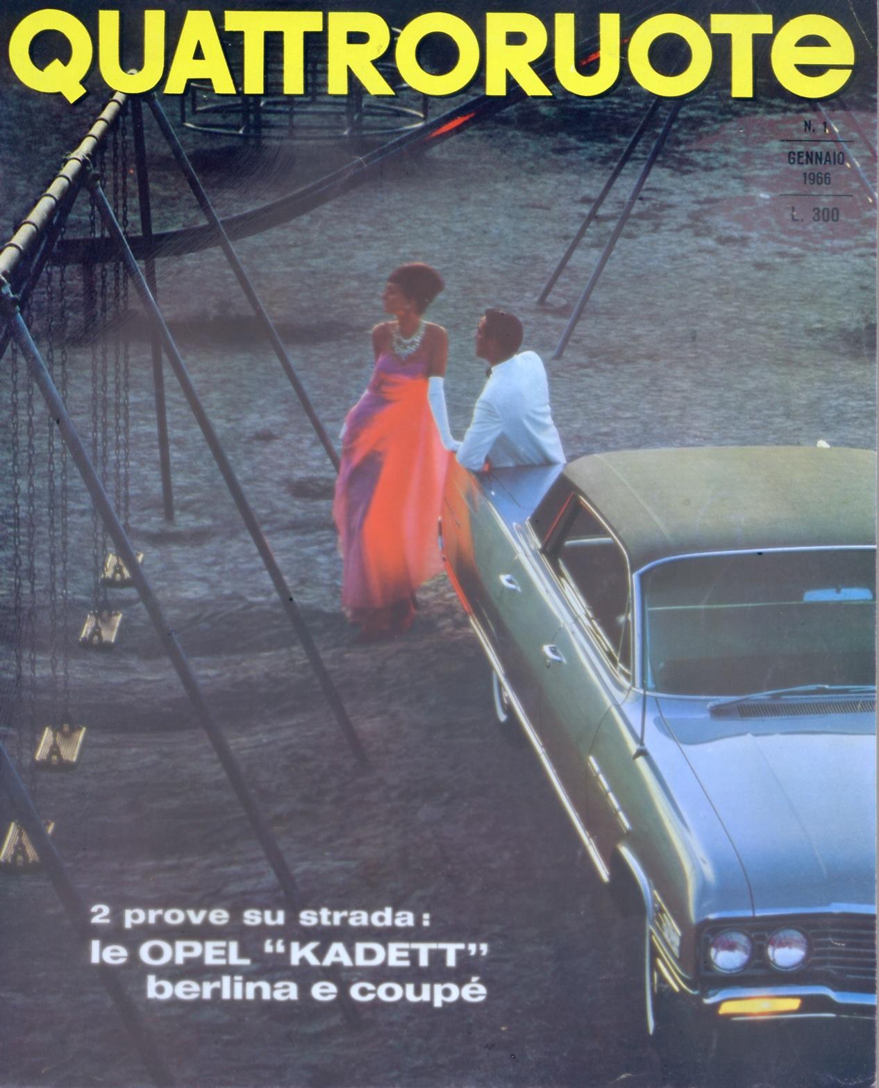 1966 quattroruote copertina gennaio 121