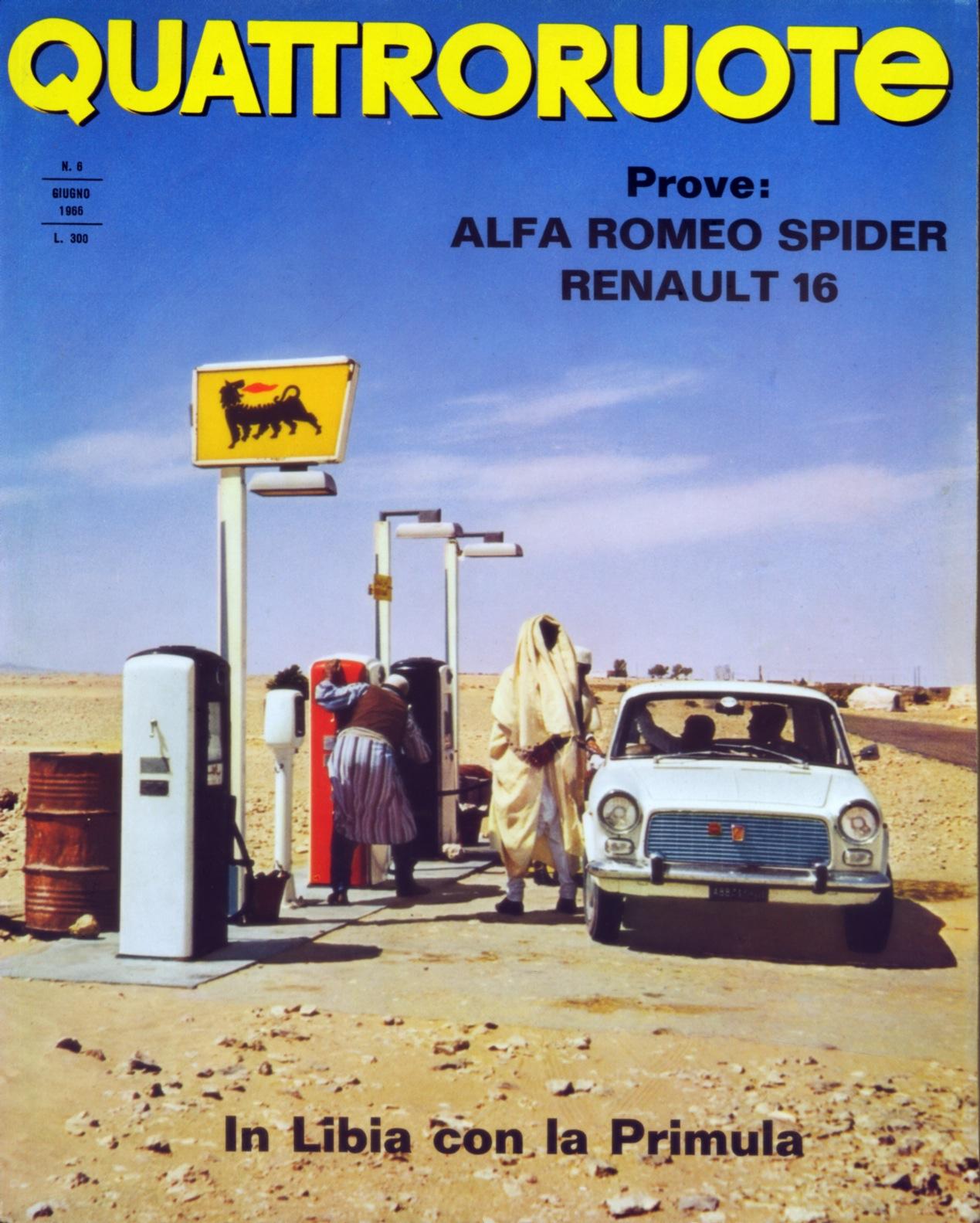 1966 quattroruote copertina giugno 126