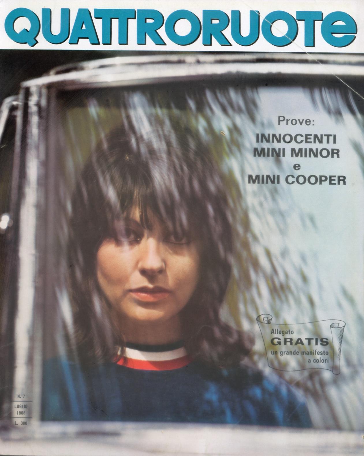 1966 quattroruote copertina luglio 127