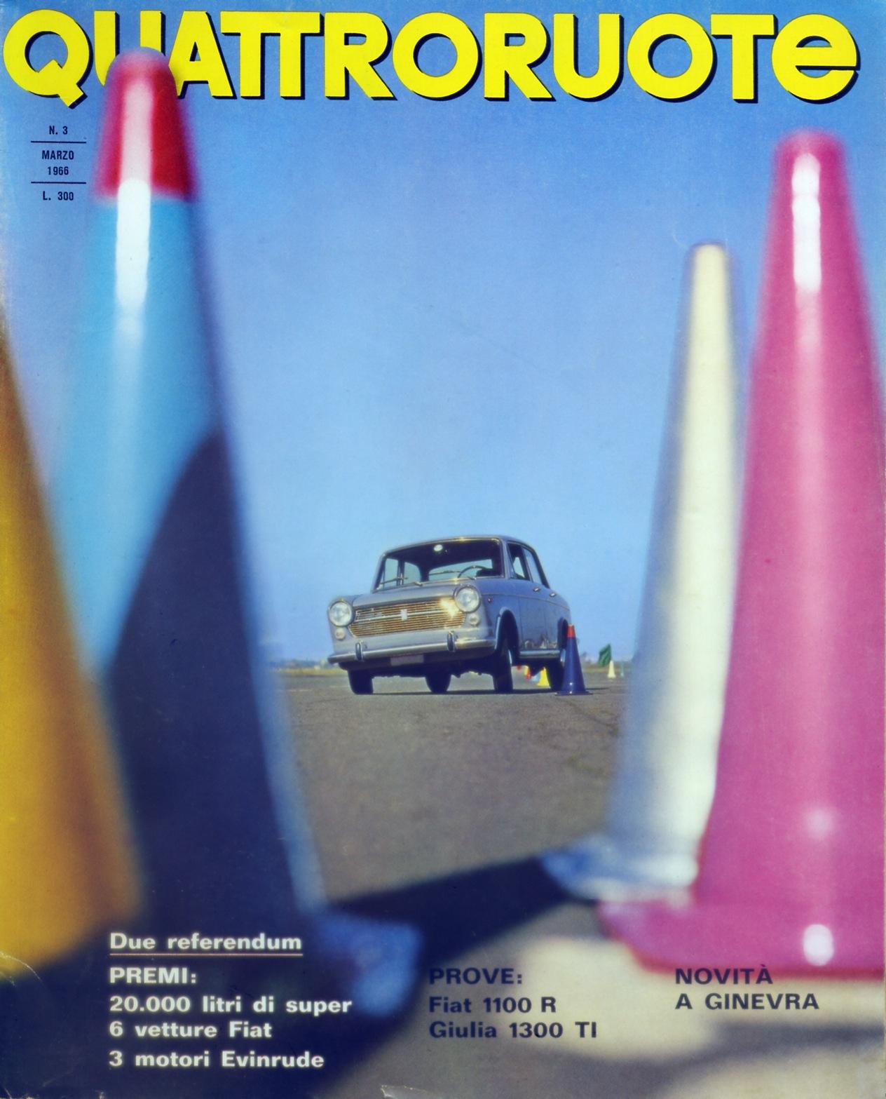 1966 quattroruote copertina marzo 123