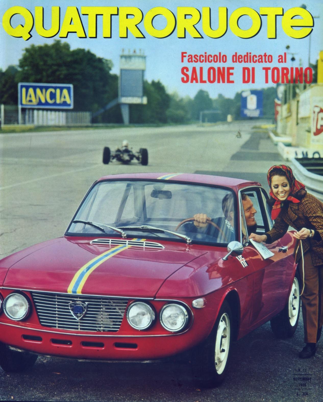 1966 quattroruote copertina novembre 131