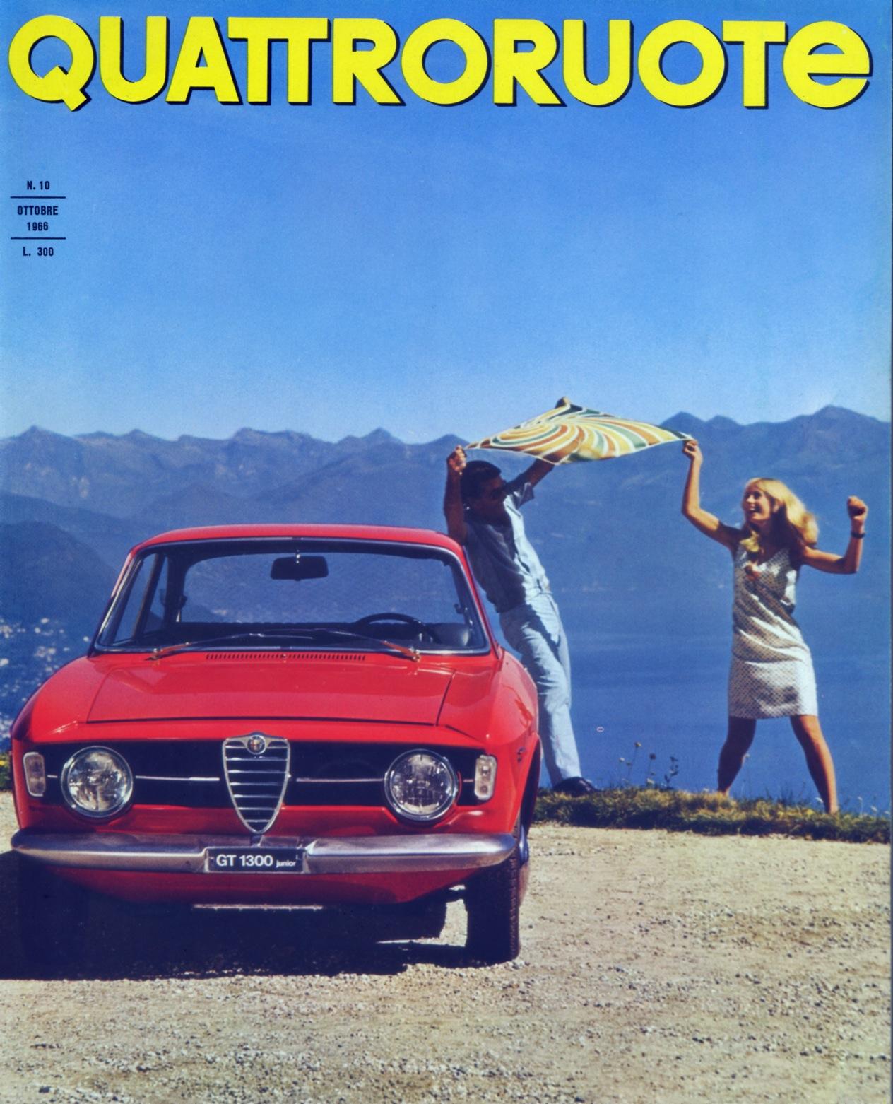 1966 quattroruote copertina ottobre 130
