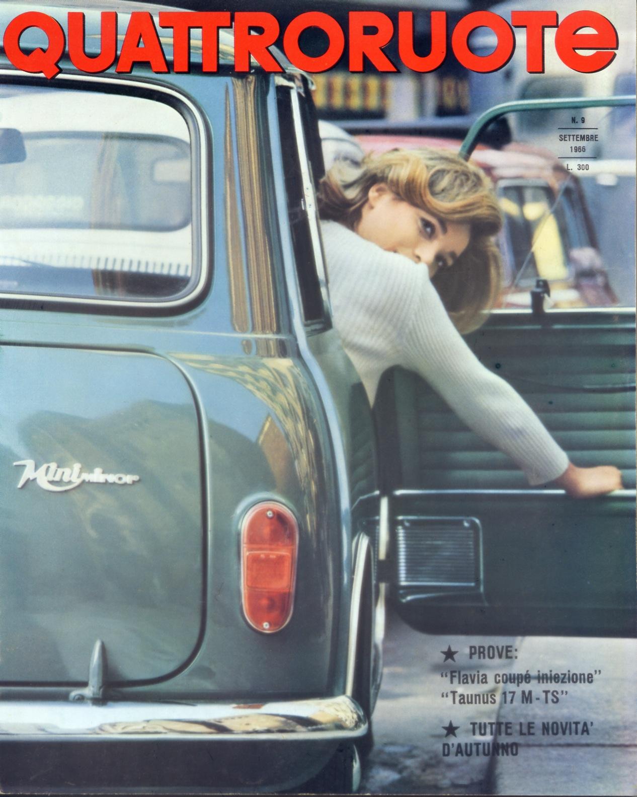1966 quattroruote copertina settembre 129