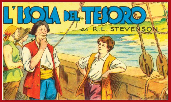 l'isola del tesoro stevenson romanzo per ragazzi