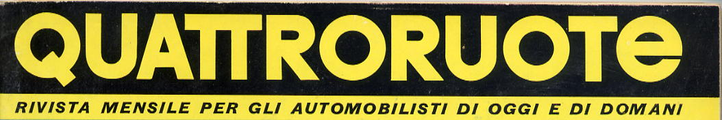 logo quattroruote 1966
