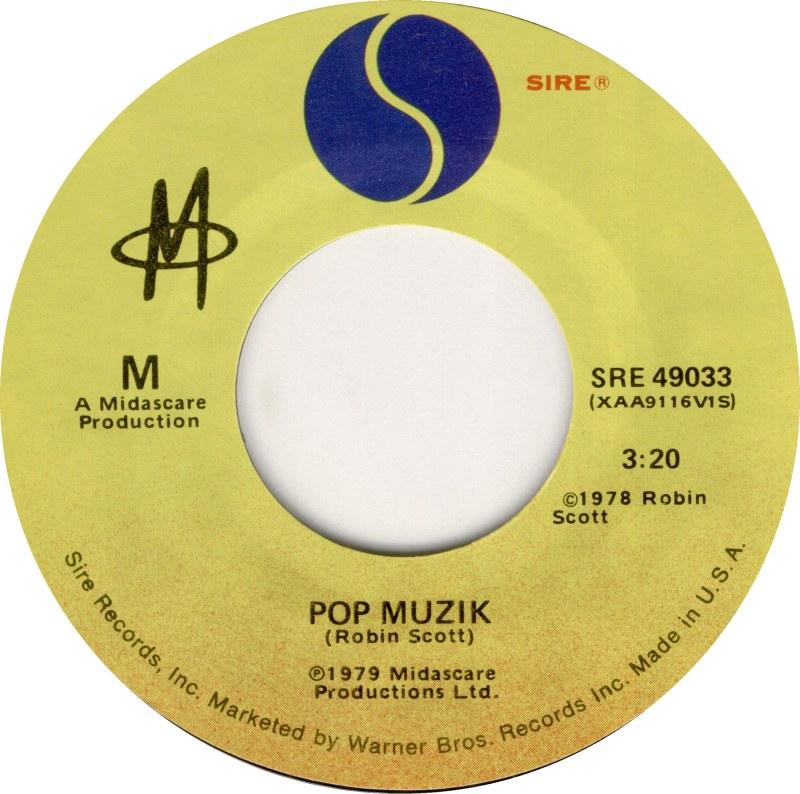 m pop muzik 1979 disco 45 giri