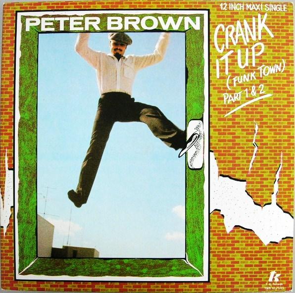 peter brown crank it up funk_town copertina