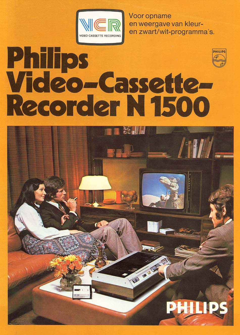 philips- viideoregistratore n1500 1972