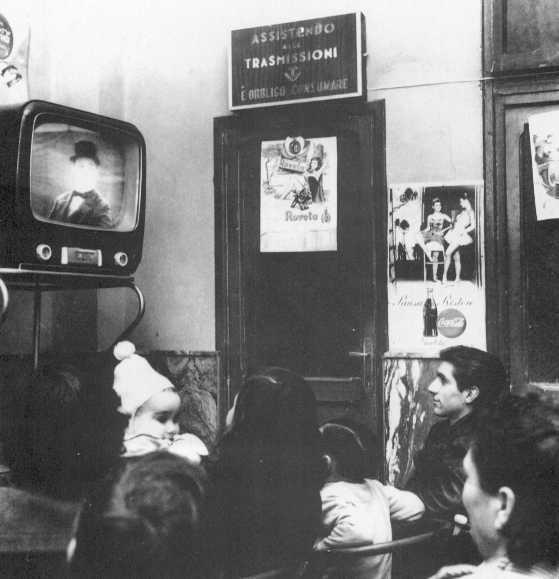 programmi televisivi anni 60 nei bar