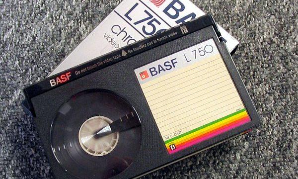 Gli oggetti del nostro passato: VIDEOCASSETTA