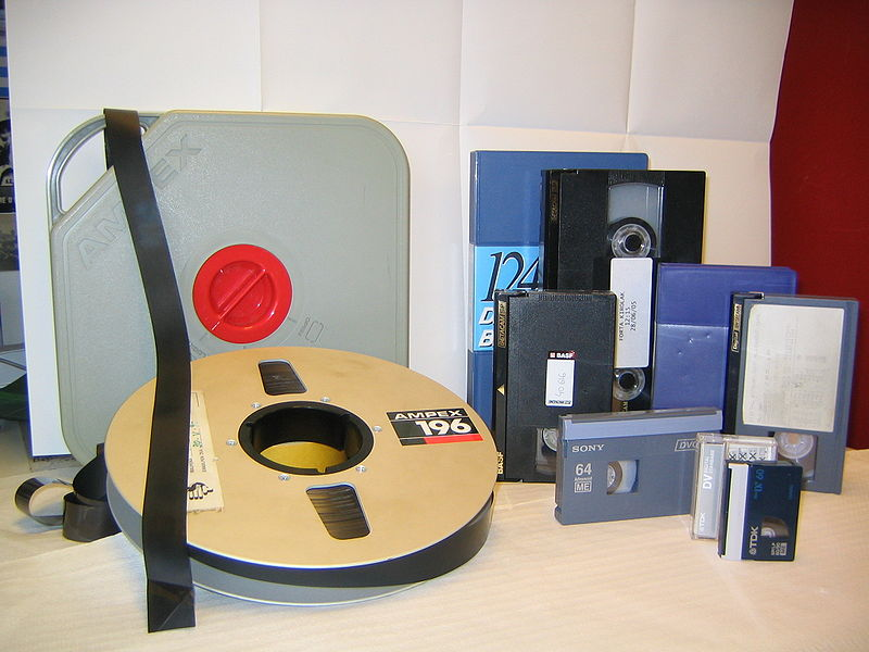 videocassette diversi formati