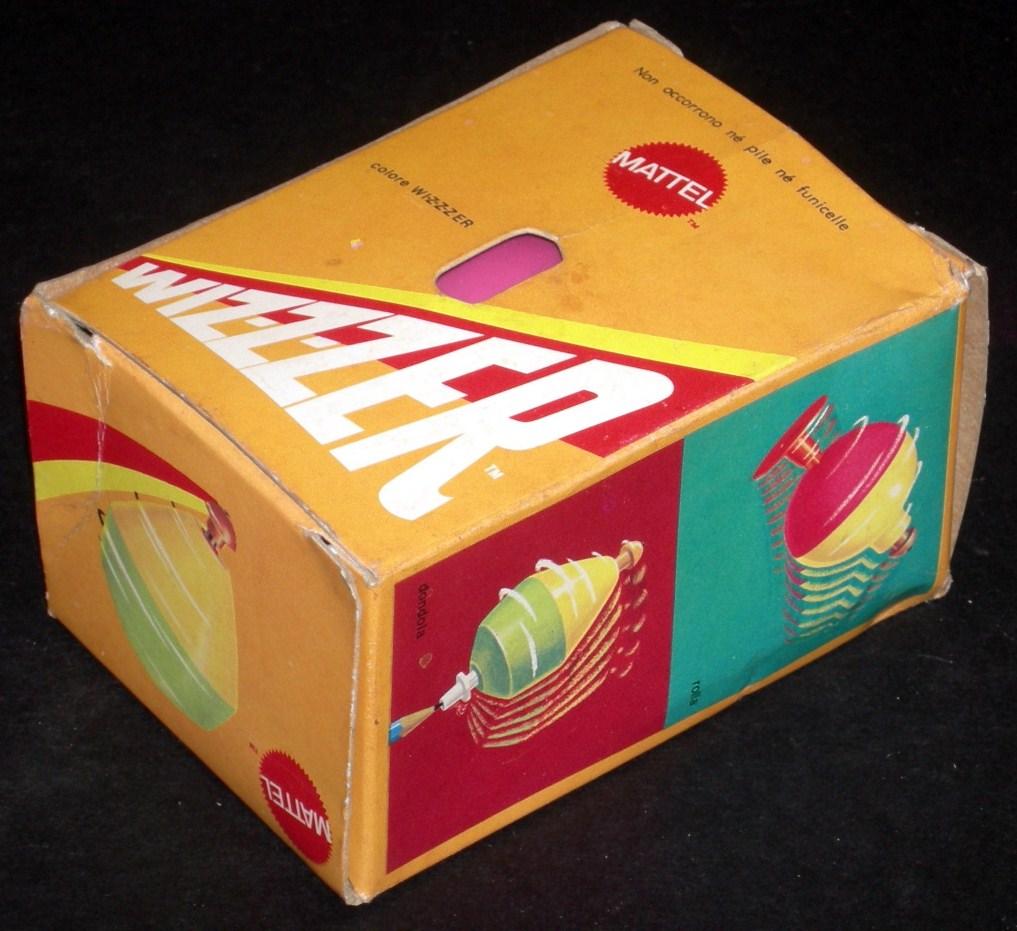 confezione vintage trottolo wizzer