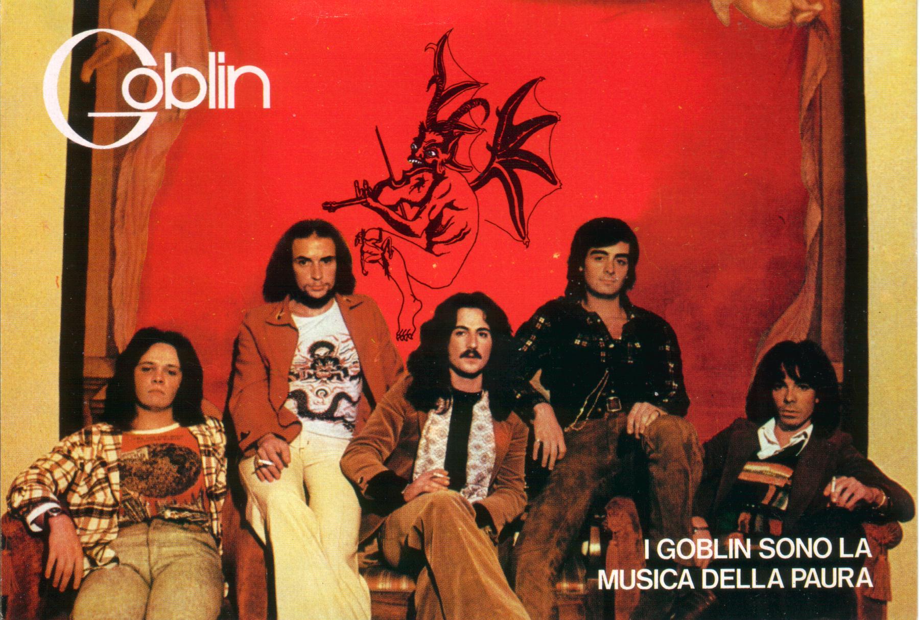 Goblin Formazione Promo 1976