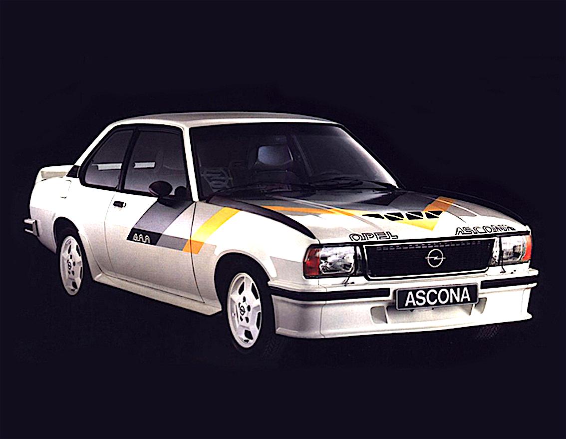 opel ascona 400 auto anni 80