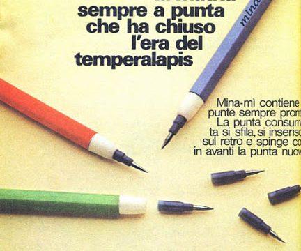 MINAMì – La matita ricaricabile (Primi anni '70)