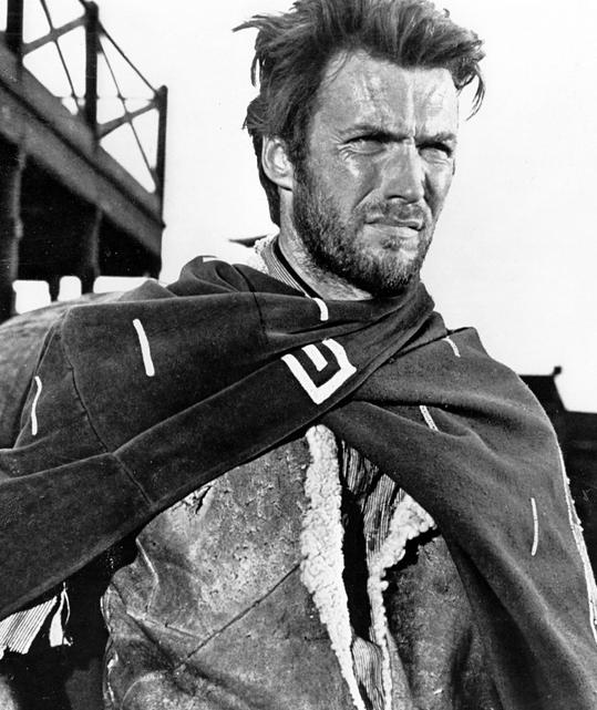 Clint Eastwood Per un pugno di dollari di Sergio Leone 1964