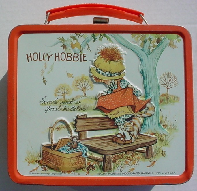 Holly Hobbie 1970s Vintage Lunch-Box-lunch-boxes-