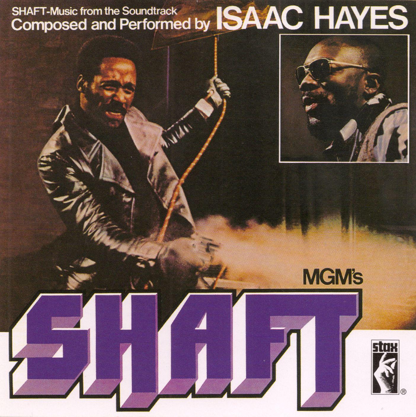 Isaac Hayes - Shaft - copertina
