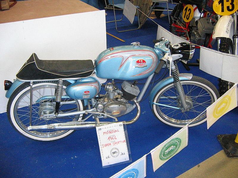Una Mondial 48 SS 3M del 1964