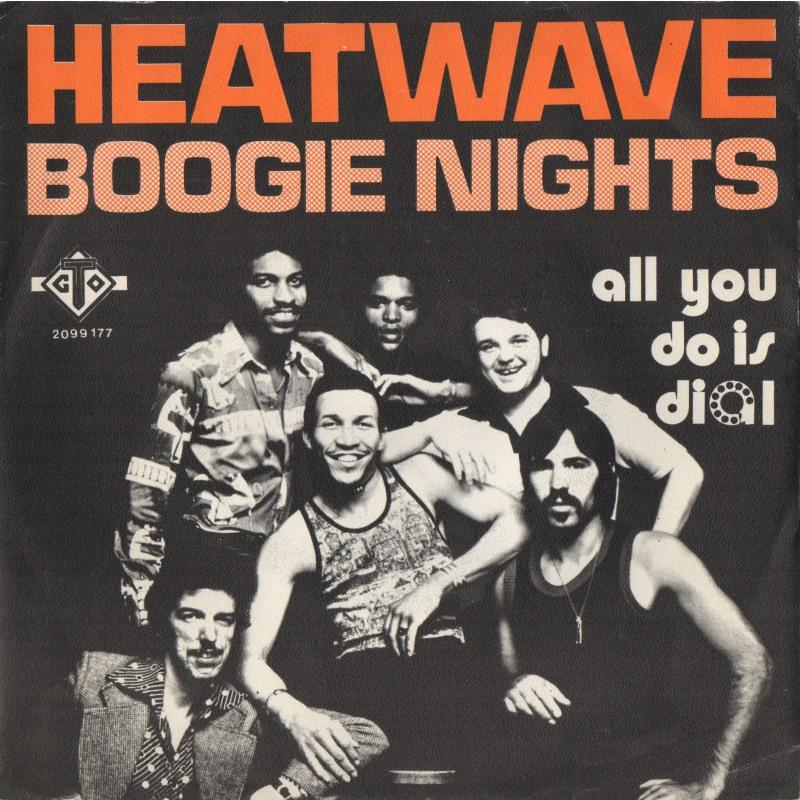 heatwave boogie nights copertina 45 giri
