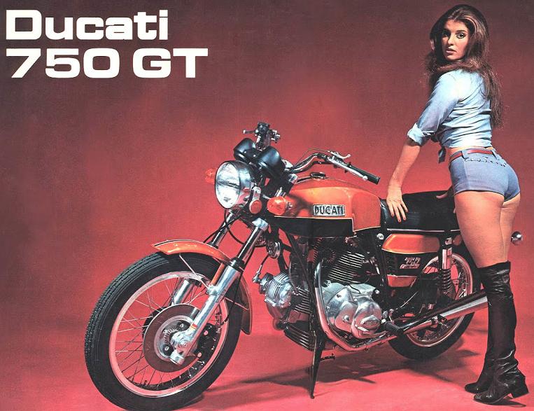 Ducati 750 gt brochure