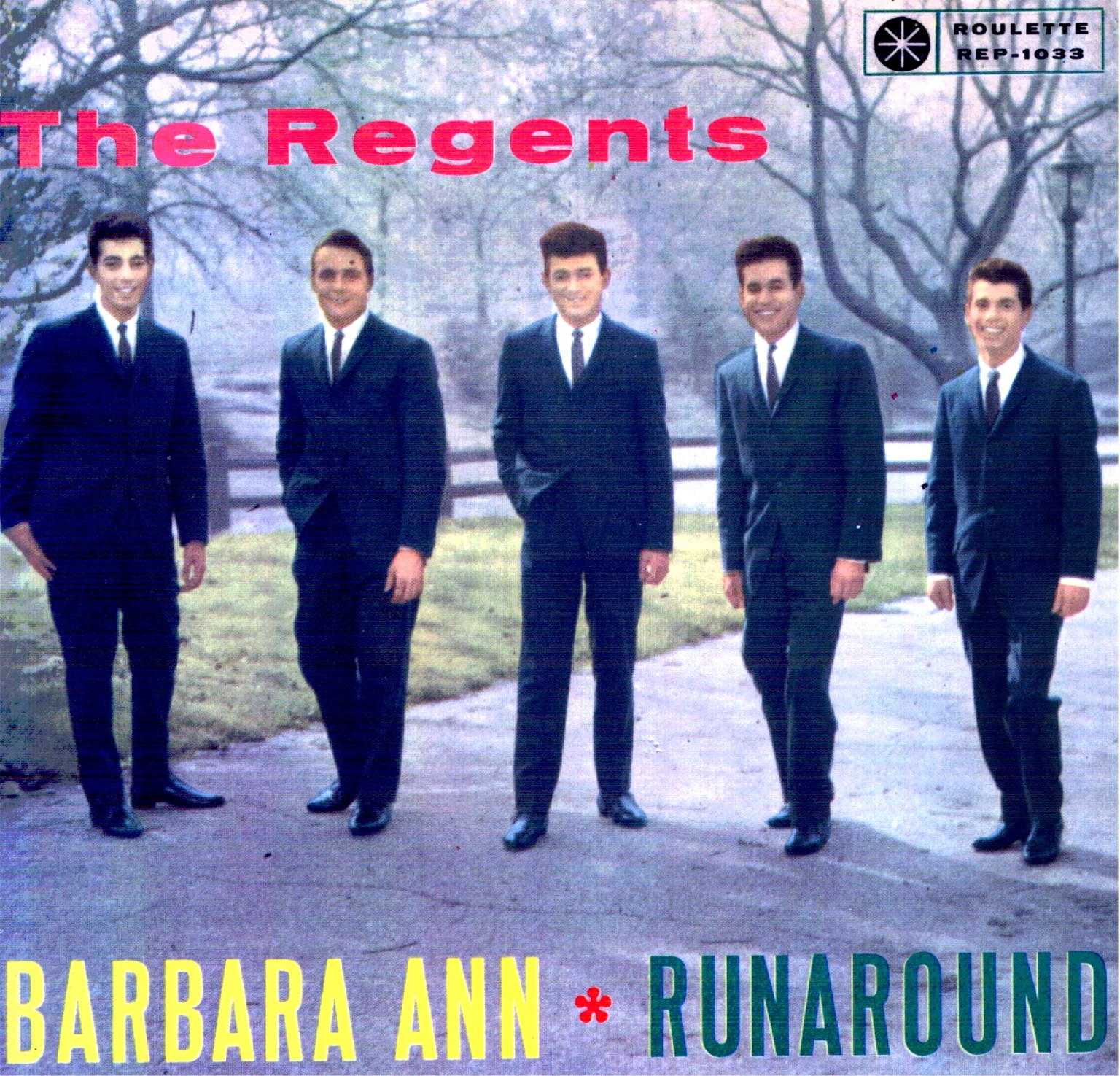 The Regents barbara ann copertina
