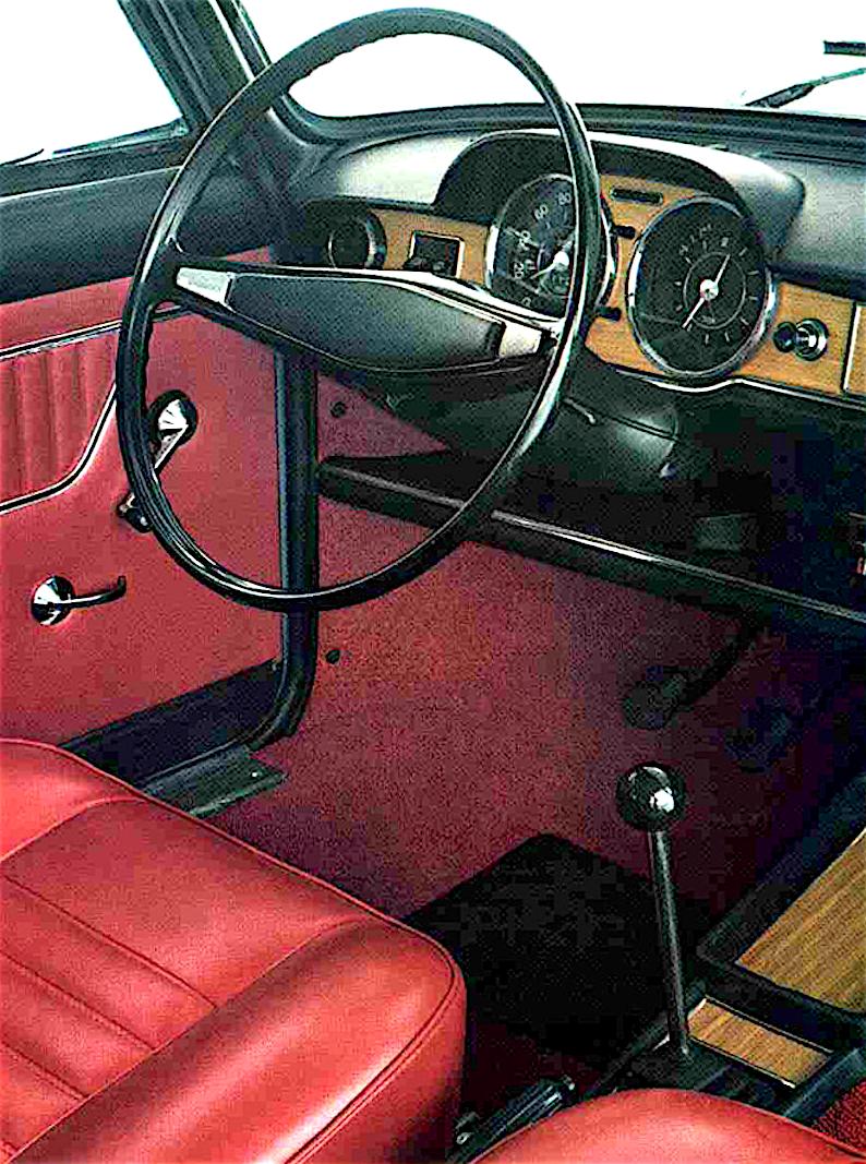 Brochure originale della Fiat 125