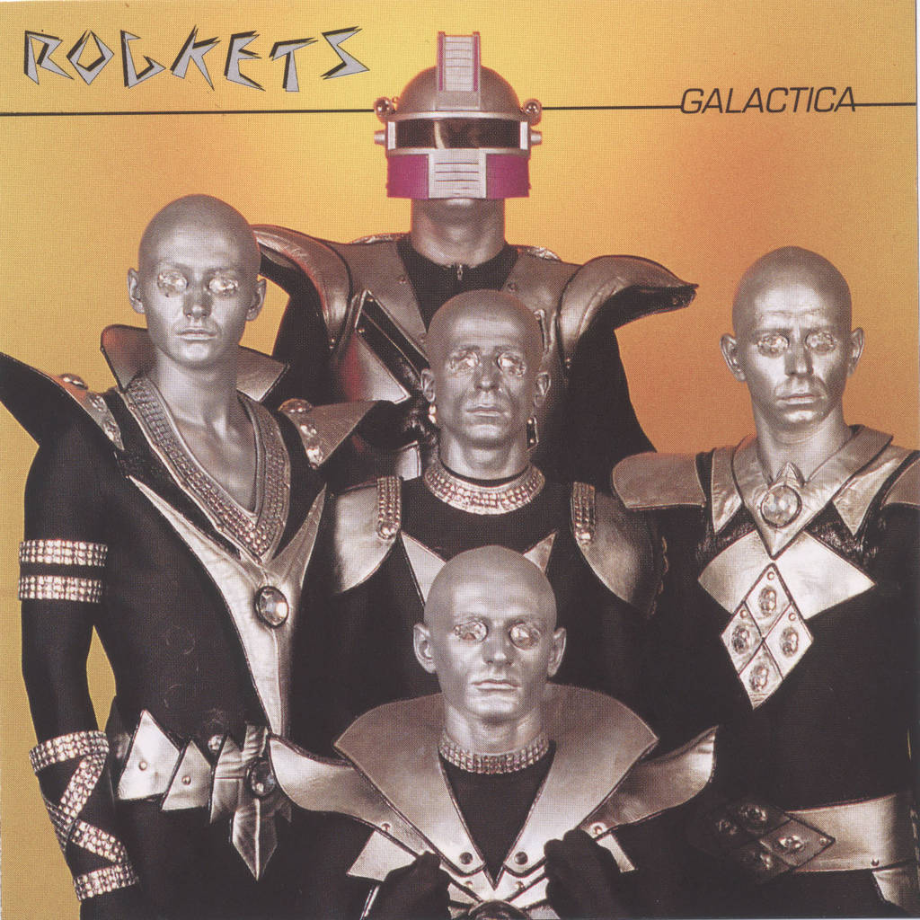 galactica copertina rockets 1980