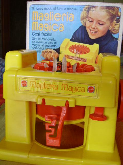 giocattoli maglieria magica mattel anni 80