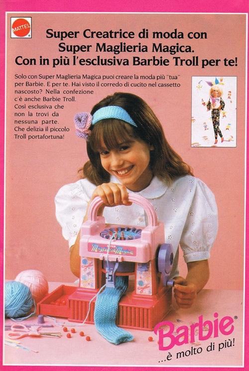 maglieria magica Barbie-35-anno-1994