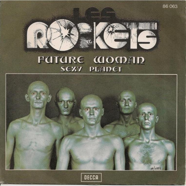 rockets copertina future woman 1975