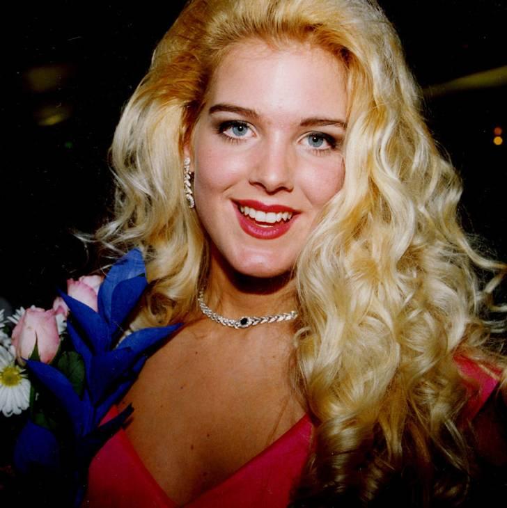 Come era la Silvstedt nel 1993 quando arrivò 2° a Miss Svezia