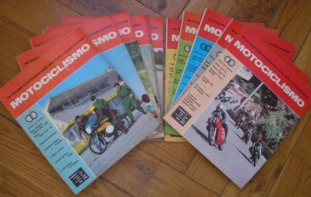 MOTOCICLISMO RIVISTA ANNATA 1967