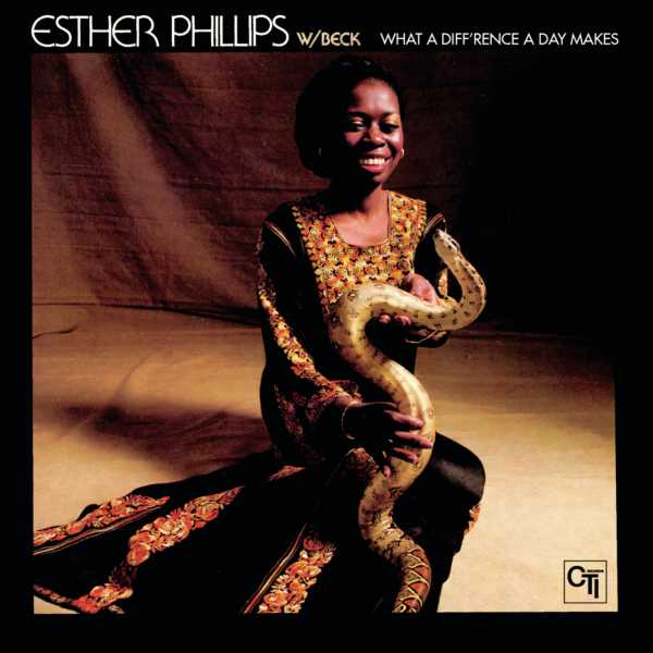 esther philips what a difference a day makes copertina disco