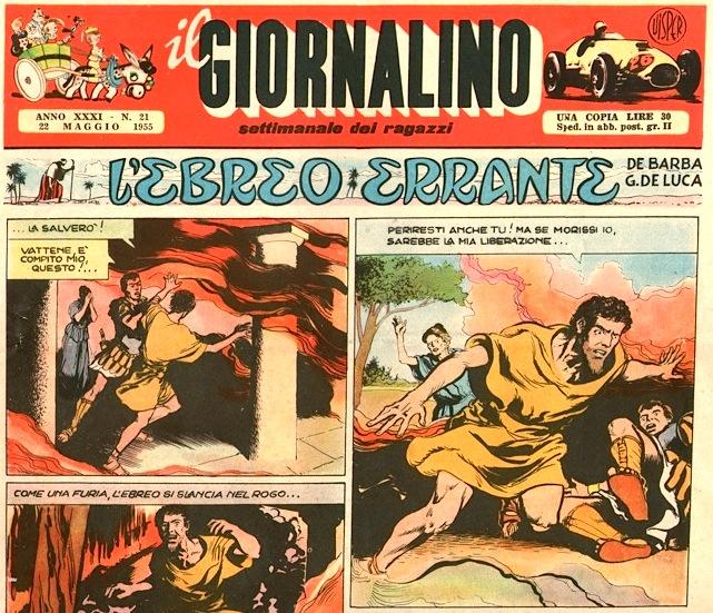 il giornalino copertina 1955