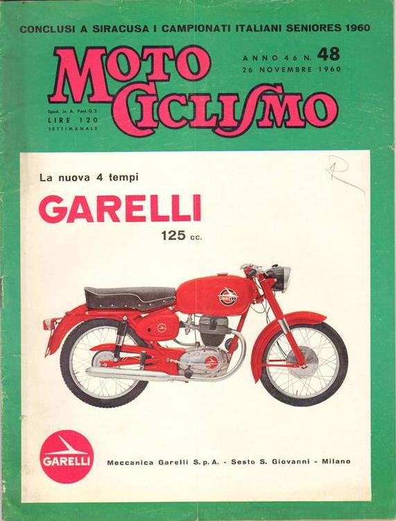 motociclismo copertina 1960