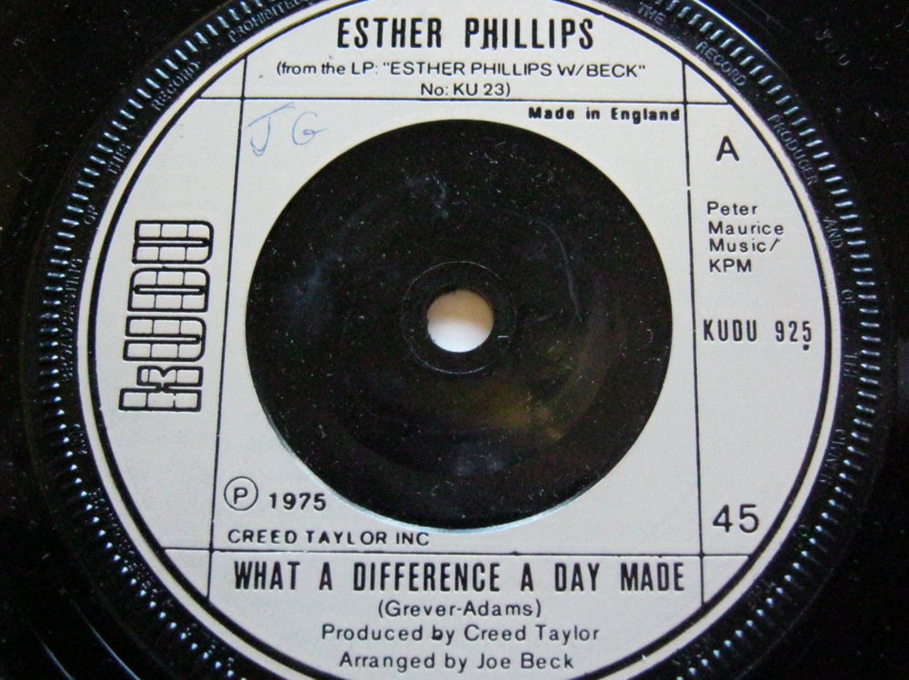what a difference a day makes disco esther philips