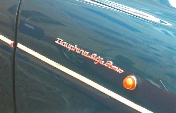 Dauphine Alfa Romeo 1964