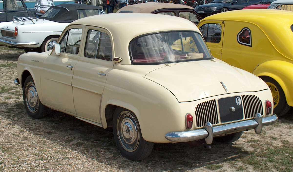 Renault_dauphine_posteriore