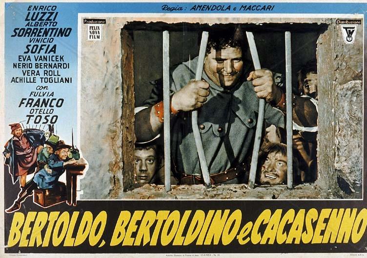 Una locandina del film del 1954