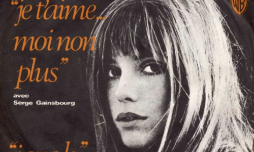 JE T'AIME MOI NON PLUS –  Serge Gainsbourg/Jane Birkin – (1969)