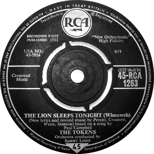the-tokens-the-lion-sleeps-tonight-wimoweh-rca
