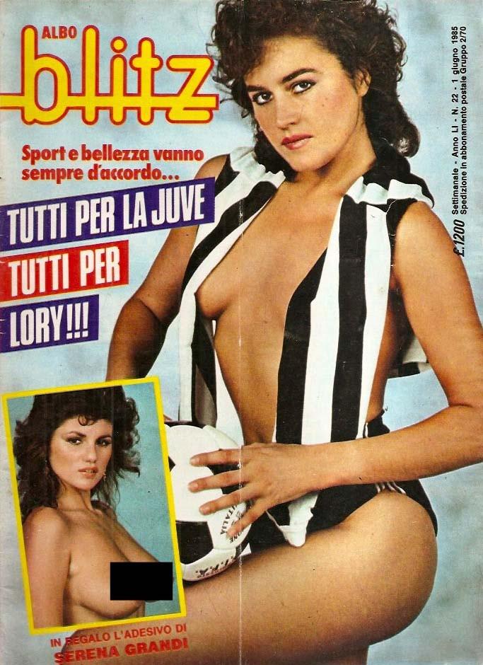Lory del Santo copertina blitz 1985